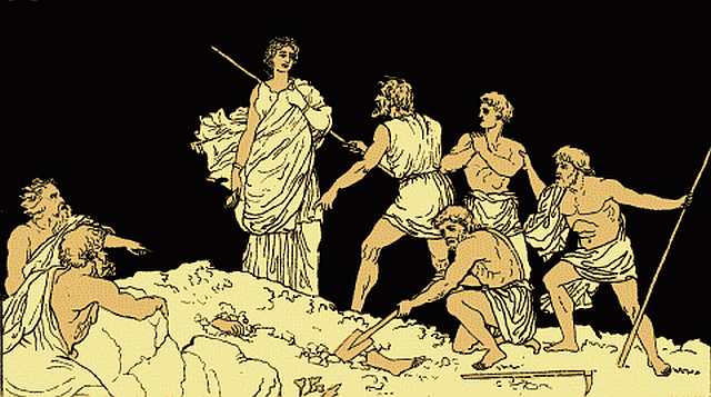 an analysis of creons downfall in antigone an ancient greek tragedy by sophocles In ancient greek culture antigone by sophocles, antigone sophocles, creon, death you are currently reading death in antigone at analysis.